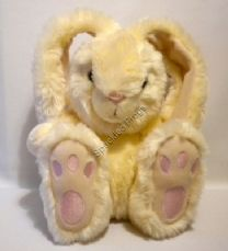 Patch Foot Rabbit, Cream.